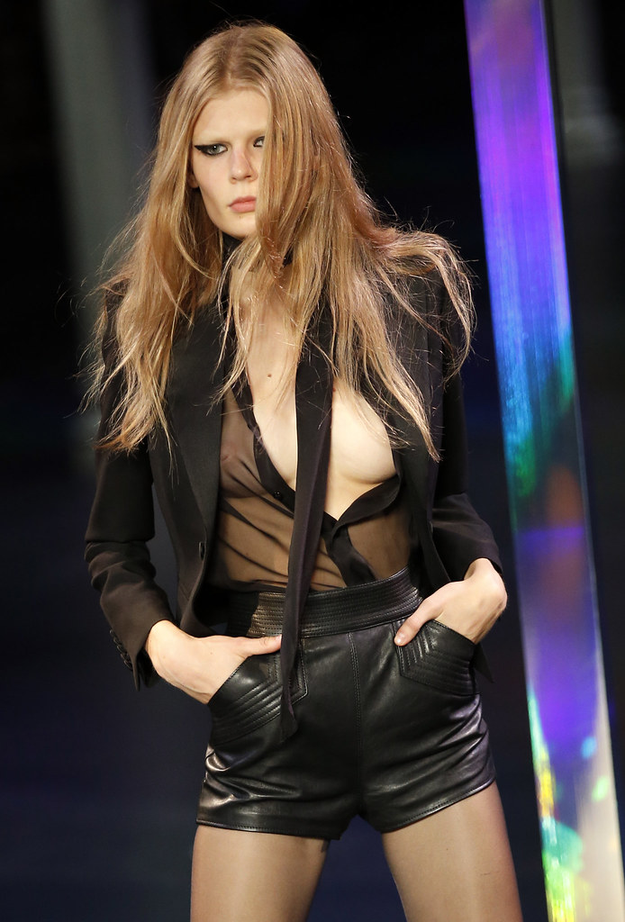Paris Fashion Week Saint Laurent