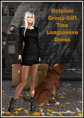 Tina Longsleeve Dress October Group Gift