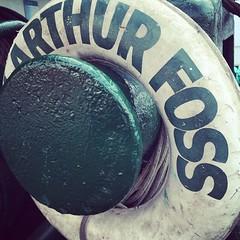 A is for the Arthur Foss.