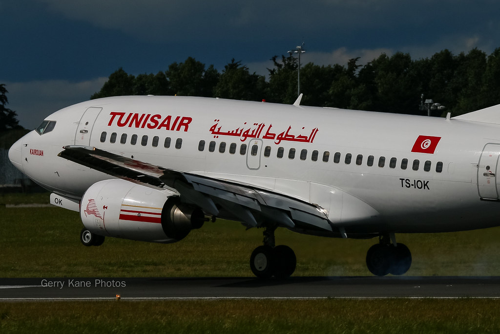 Tunisair Boeing 737-600 TS-IOK EIDW 230814