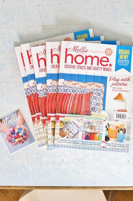 mollie makes home publication