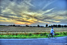 Evening Cyclist