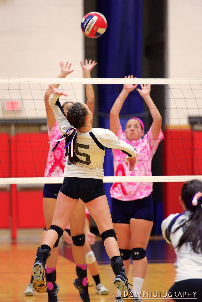 Foran vs. Law - High School Volleyball