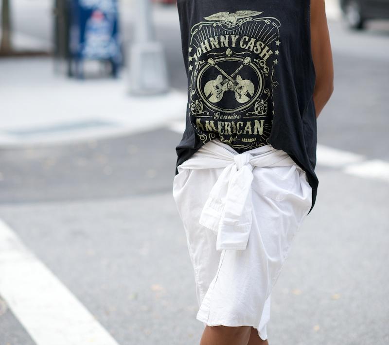 Johnny cash tee shirt