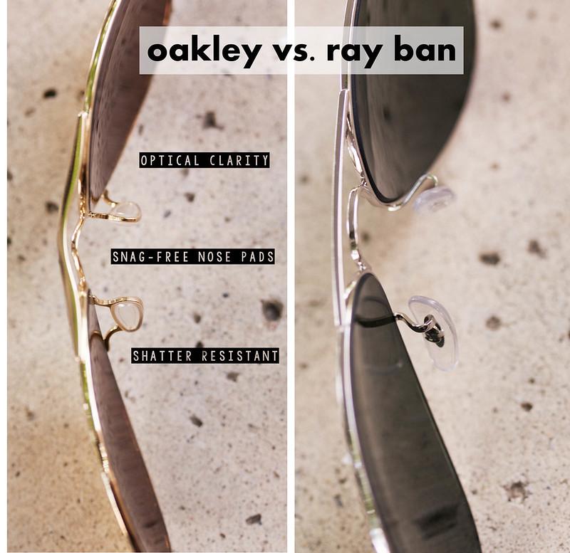 Oakley Vs Rayban