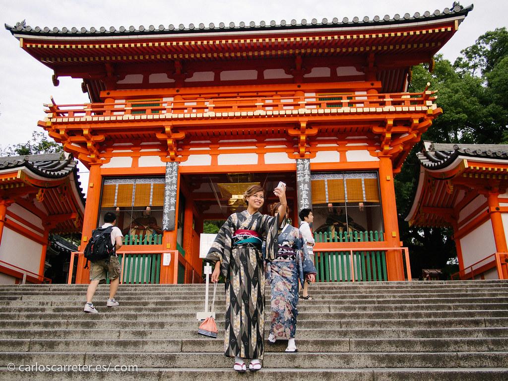 Santuario Yasaka - Kioto