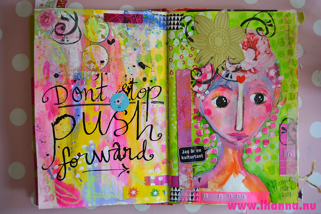 Art Journal: Push Forward