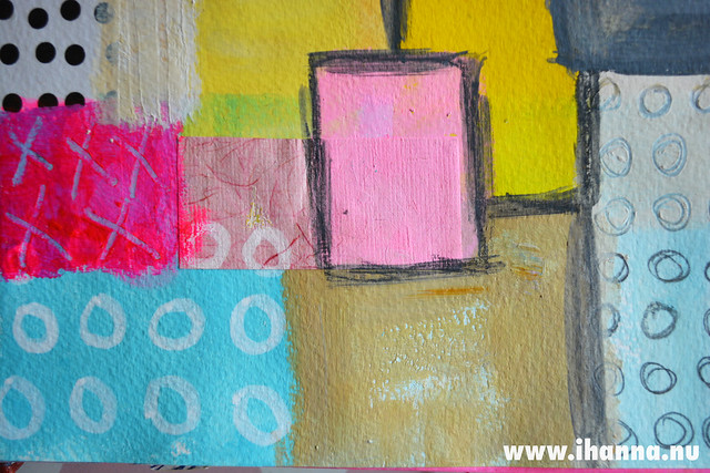 Painted Quilt detail 2