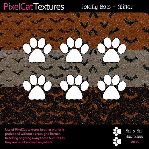 PixelCat Textures - Totally Bats - Glitter