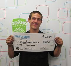 Daniel Christiansen - $1,000 Flamingo Slingo