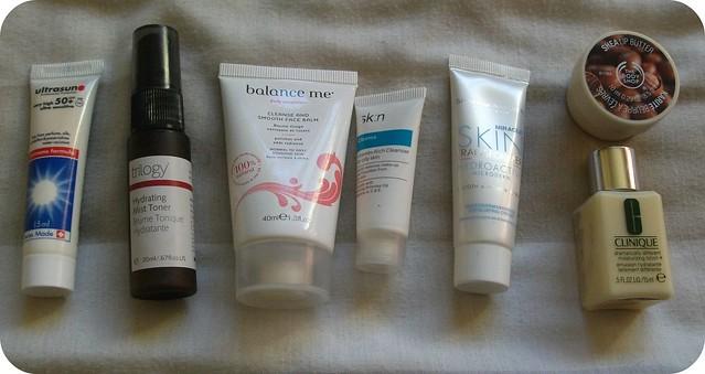 Cabin Baggage Skincare