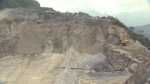 礦區可能危及台灣水青岡