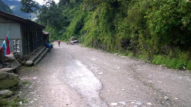 Kodari Arniko Highway, yes Highway!