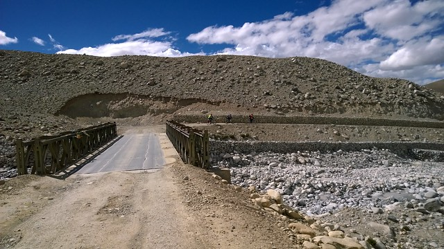 The road back from Chomolungma, Mt Everest