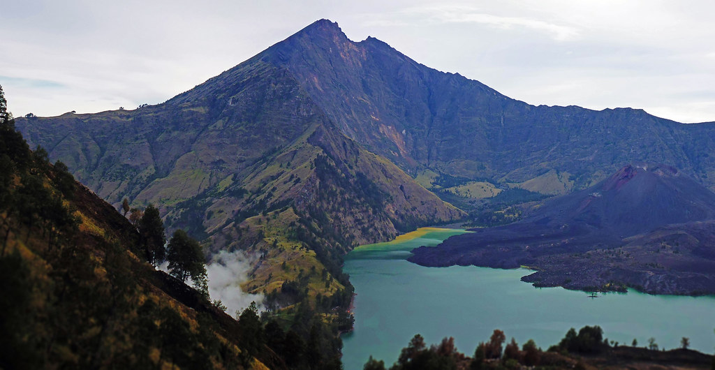Inside the Crater of Gunung Rinjani