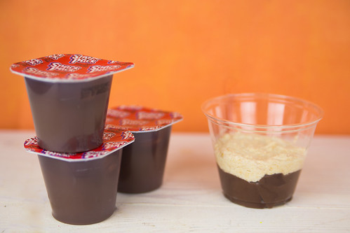 Chocolate Peanut Butter Parfaits #SnackPackMixins #Shop