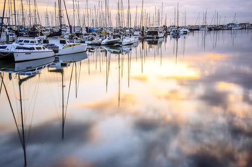 sea sky water weather sunrise manly waterreflections sunsetsandsunrisesgold slowshutteronwater
