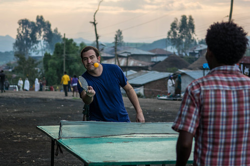 Table tennis at Lalibela | by Tanya R.