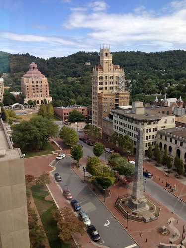 park skyscraper downtown asheville central aerial highrise buncombecounty packplace
