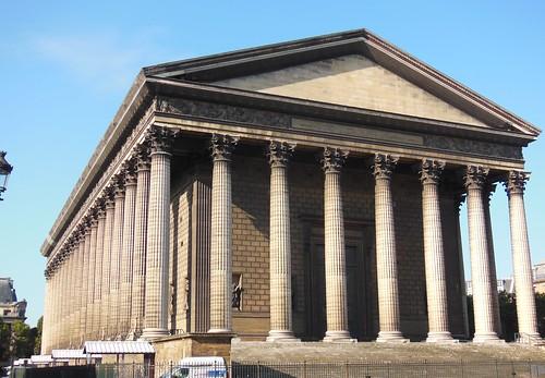 Se or del biombo la iglesia de la madelaine neoclasicismo for Paginas de construccion y arquitectura