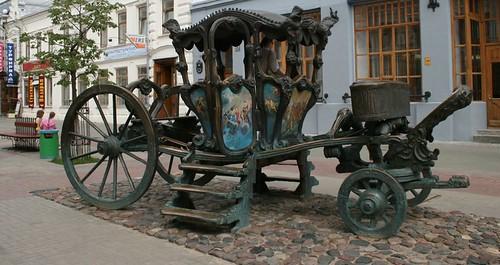 карета Екатерины 2