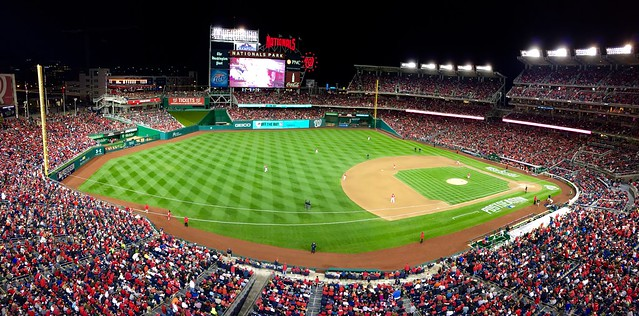 NLDS Game 2 at Nationals Park (Giants v. Nationals)