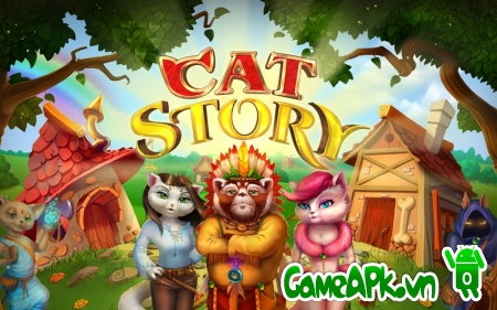 Cat Story v1.4.1 hack full tiền cho Android