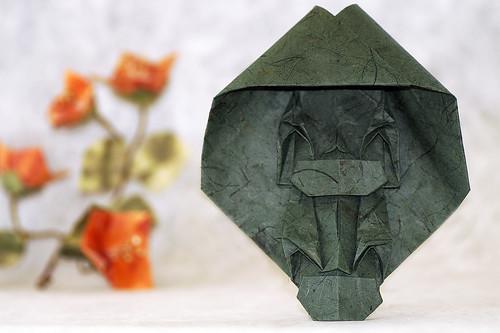 Origami Two Monks (Toyoaki Kawai)