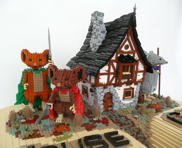 LEGO Mouse Guard
