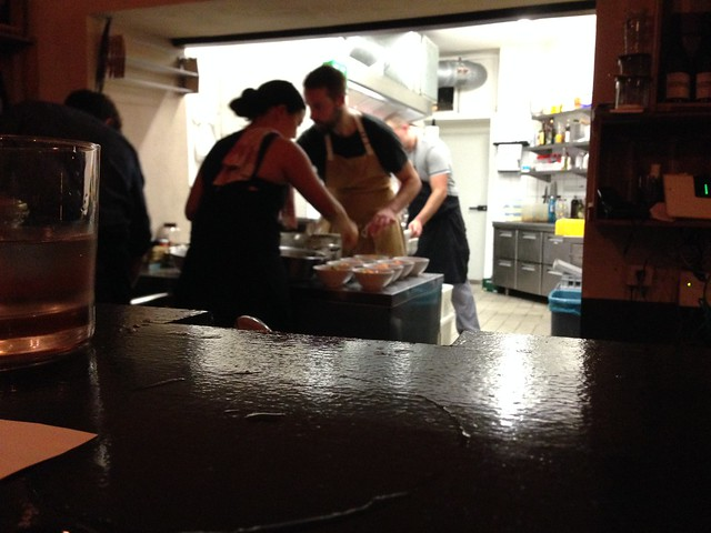 Mr Susan F'in Good Hidden Chef dinner for Stadt Land Food fest_ the chefs at work in the kitchen