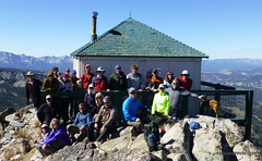 Summit shot of the whole group