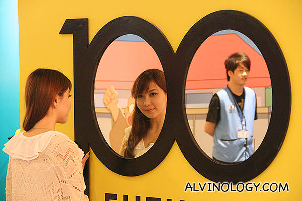 Blogger Regina, looking at the man of her dream