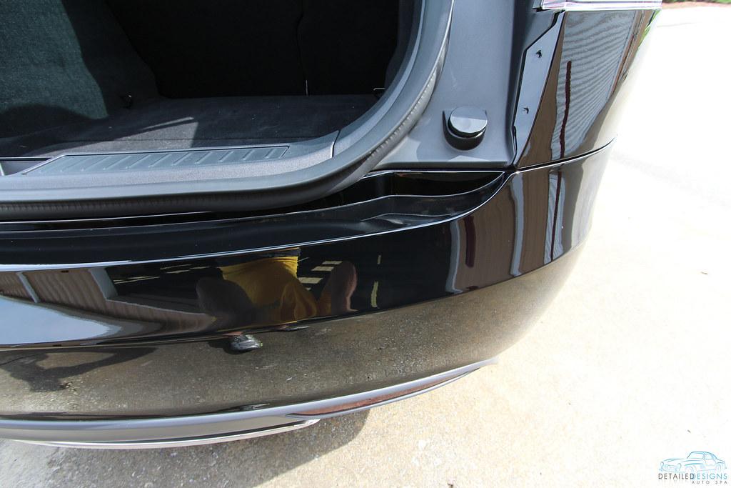 Tesla Model S Clear Bra Installation Atlanta