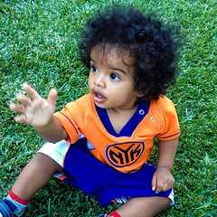 Father, is it time for basketball season? #knickstape