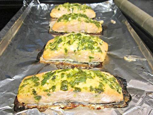 Cilantro-Lime Salmon