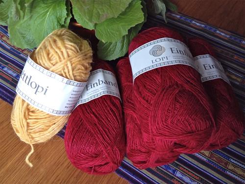 Iceland lopi yarns