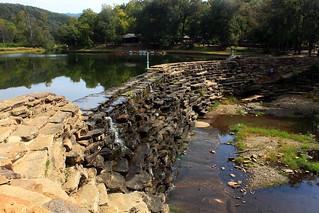 Lee Creek Dam - Devils Den State Park, Northwest Arkansas