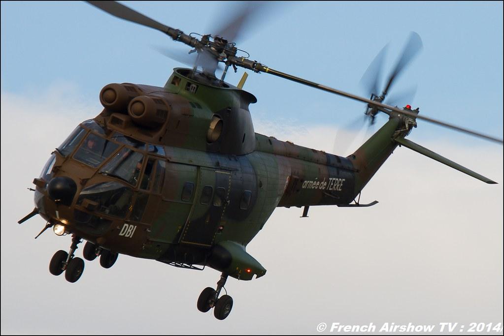 Sud-Aviation, SA330 Puma, 60 ans ,ALAT, JPO Gamstat Valence Chabeuil 2014