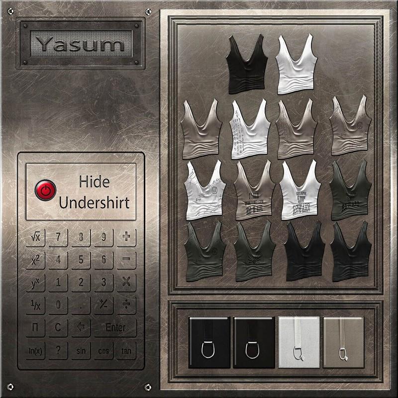 HUD goth shirt - Yasum