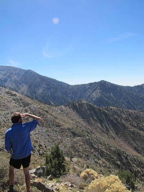 Jeremy on Pine Mtn Ridge