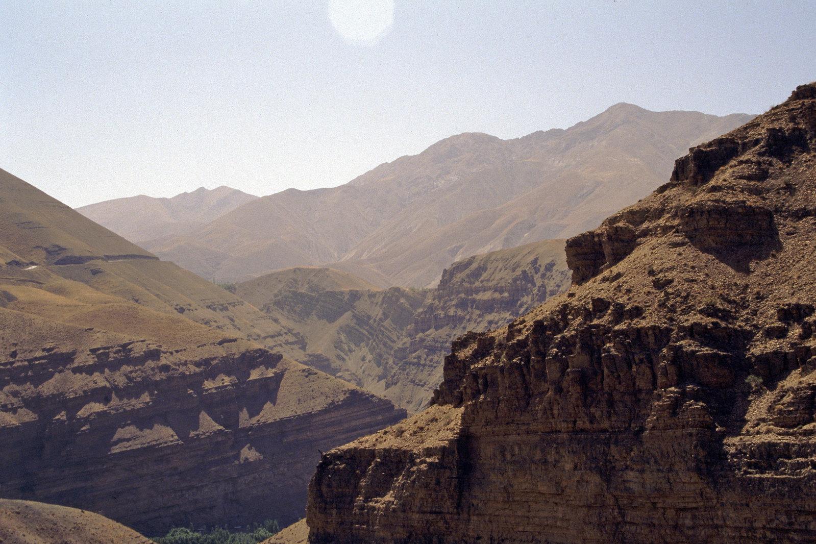 Road trip en Iran - Les pentes arides des Monts Elbourz