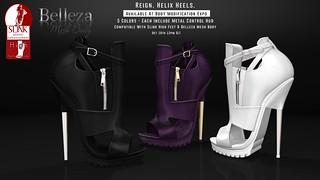 REIGN. Helix Heels