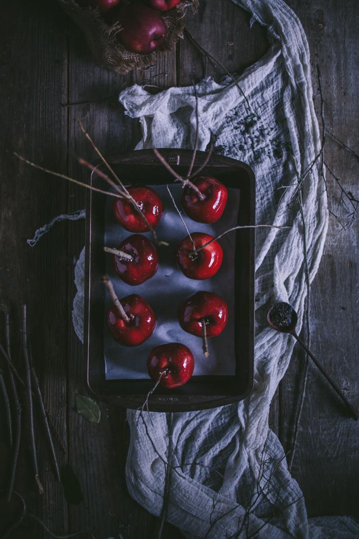 Black Tea Candied Apples by Eva Kosmas Flores | Adventures in Cooking