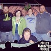 Had a blast at the haunted house last night!