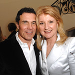 "ARIANNA HUFFINGTON hosts a party for NICOLAS BERGGRUEN and NATHAN GARDELS new book ""Intelligent Governance for the 21st Century"""