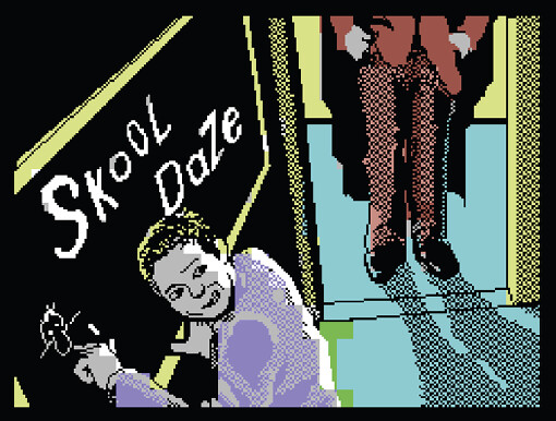 Skool Daze, ZX Spectrum/C64
