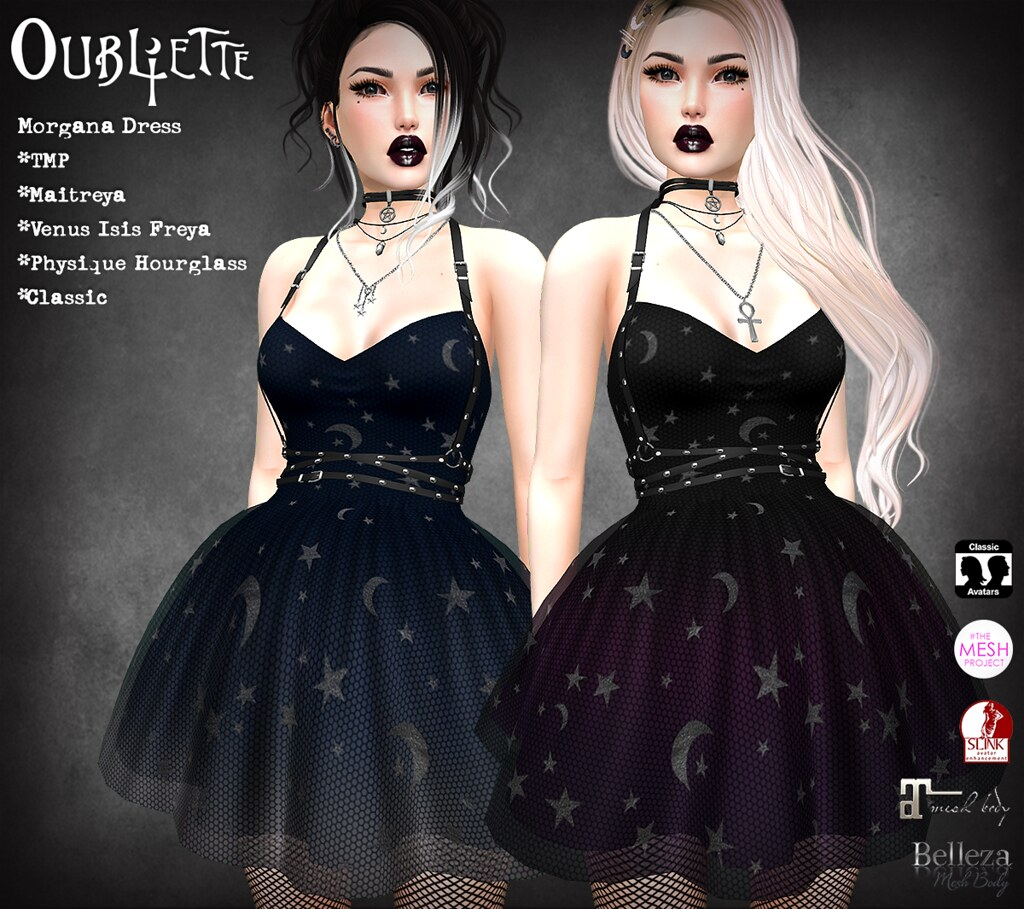 Oubliette- Morgana Dress - SecondLifeHub.com