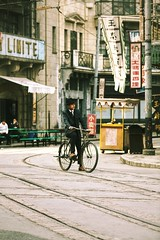Cycling backwards~ shanghai