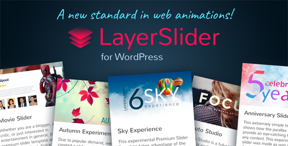 LayerSlider v6.4.0 - Responsive WordPress Slider Plugin