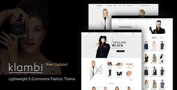 Klambi WordPress Theme free download